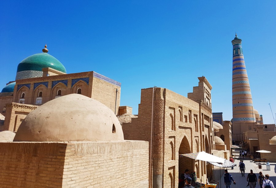 Three Weeks in Central Asia (Part 11): Uzbekistan – Khiva; in the middle of the desert.