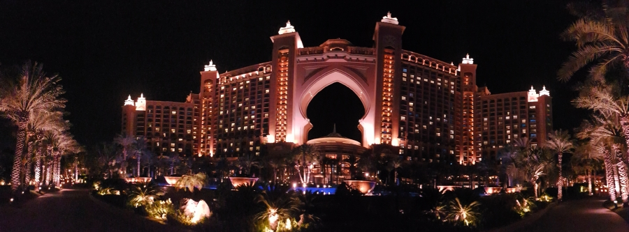 Dubai: Solo at the Atlantis